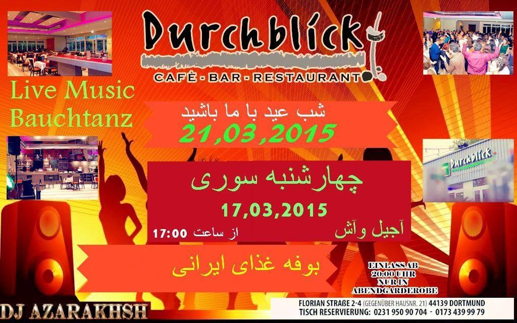 Norooz-2015, Persische Neujahrsfest mit Azarakhsh und Bauchtanz